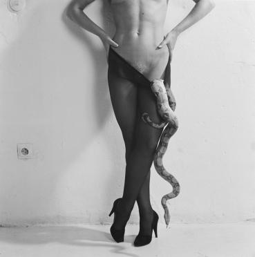 Woman and Snake 1982