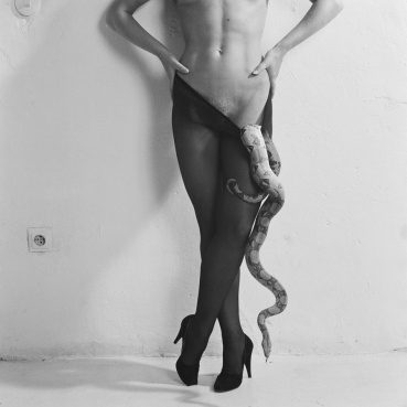 Woman and Snake 1982